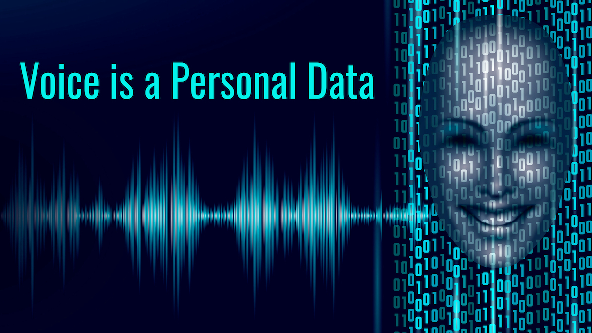 82% of the French don't know their voice is a personal data